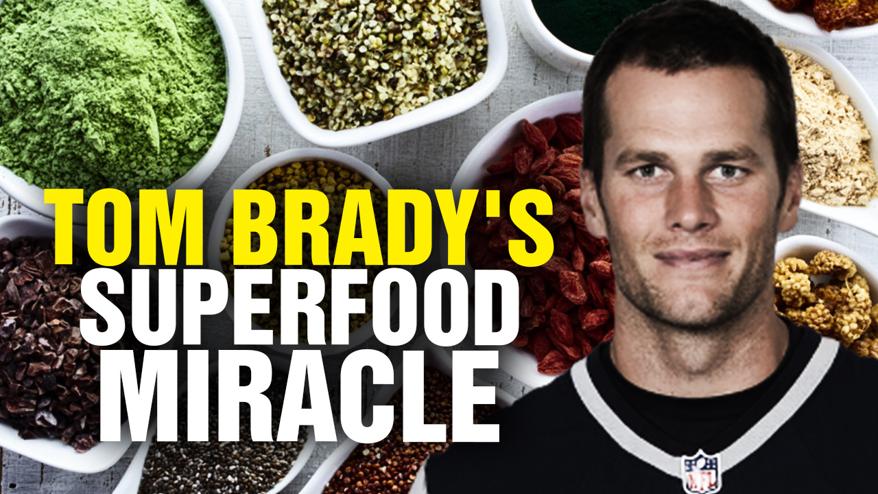 "Why the Health Ranger endorses Tom Brady's superfood diet as ""high performance nutrition"" for longevity and recovery"